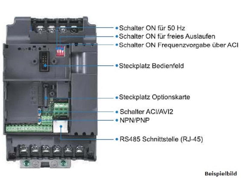 Delta Tastatur für VFD-E Frequenzumrichter Bedienteil CNC Fräse *ANGEBOT*